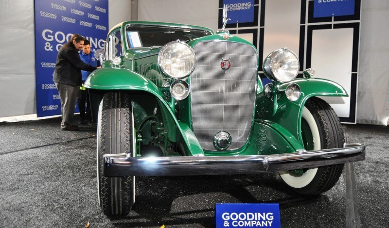 1932 Cadillac V-16 452B Madame X Imperial Sedan -- Gooding & Co. Amelia Island 2014 -- Sold for $264k 27