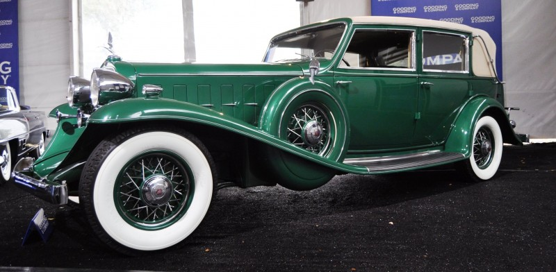 1932 Cadillac V-16 452B Madame X Imperial Sedan -- Gooding & Co. Amelia Island 2014 -- Sold for $264k 9