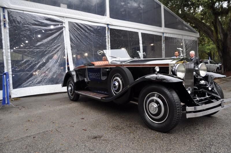 1933 Rolls-Royce Phantom II Henley Roadster 12