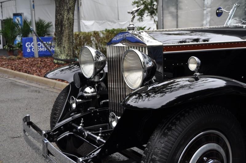 1933 Rolls-Royce Phantom II Henley Roadster 20