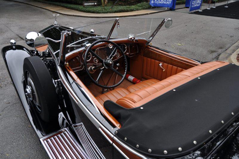 1933 Rolls-Royce Phantom II Henley Roadster 29