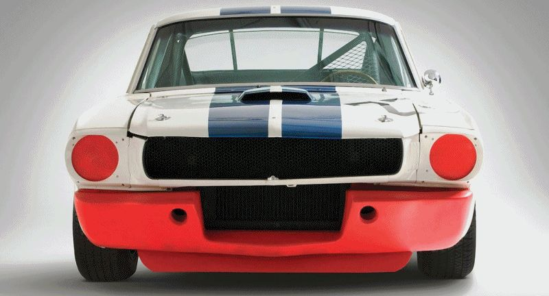 1965 Shelby Mustang GT350R Animated GIF