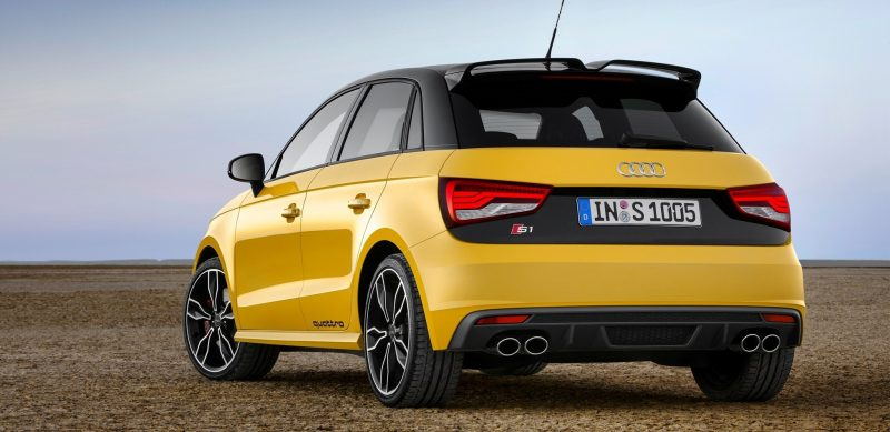 2014 AUDIU S1 and S1 Sportback in Delightful Bold Colors 1