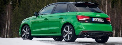 2014 AUDIU S1 and S1 Sportback in Delightful Bold Colors 12