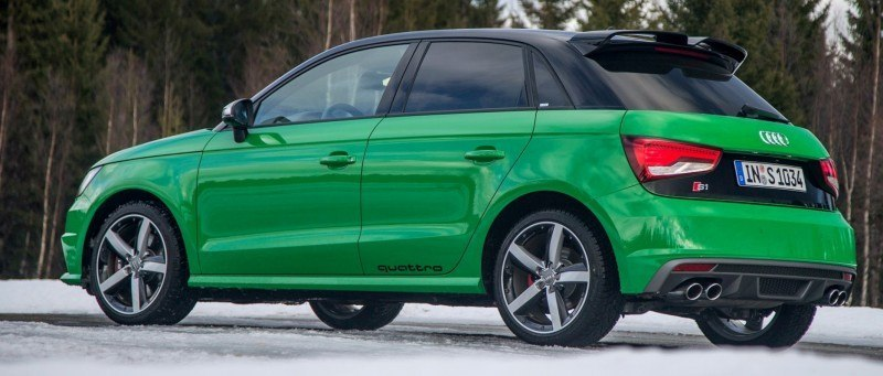 2014 AUDIU S1 and S1 Sportback in Delightful Bold Colors 13