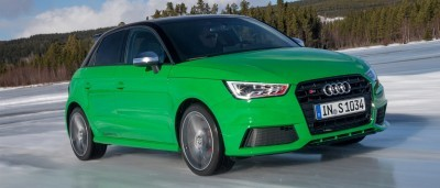 2014 AUDIU S1 and S1 Sportback in Delightful Bold Colors 15