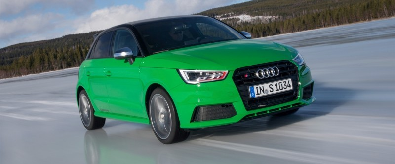 2014 AUDIU S1 and S1 Sportback in Delightful Bold Colors 16