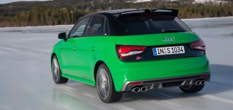 2014 AUDIU S1 and S1 Sportback in Delightful Bold Colors 17