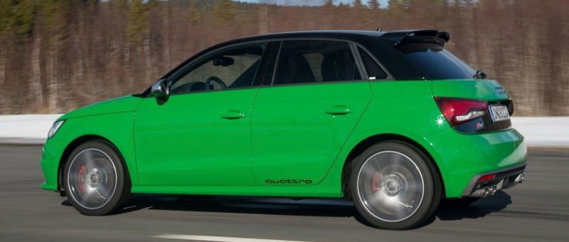 2014 AUDIU S1 and S1 Sportback in Delightful Bold Colors 18
