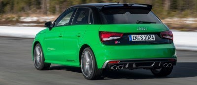 2014 AUDIU S1 and S1 Sportback in Delightful Bold Colors 19