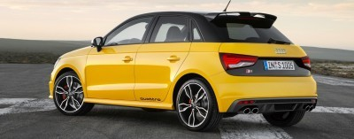 2014 AUDIU S1 and S1 Sportback in Delightful Bold Colors 2