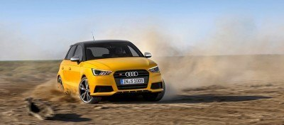 2014 AUDIU S1 and S1 Sportback in Delightful Bold Colors 3