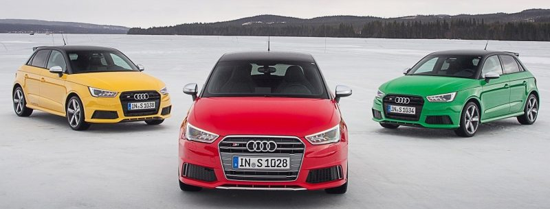 2014 AUDIU S1 and S1 Sportback in Delightful Bold Colors 4