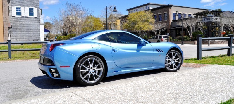 2014 Ferrari California in Blu Mirabeau -- 60-Angle Sunny Photo Shoot 10
