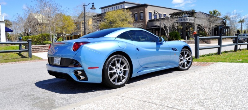 2014 Ferrari California in Blu Mirabeau -- 60-Angle Sunny Photo Shoot 11
