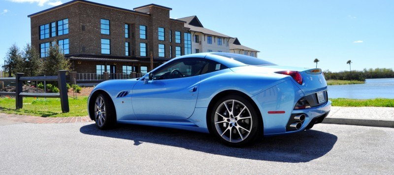 2014 Ferrari California in Blu Mirabeau -- 60-Angle Sunny Photo Shoot 17