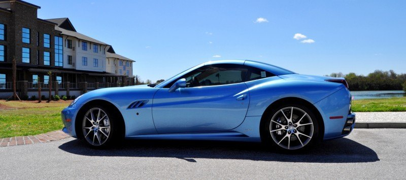2014 Ferrari California in Blu Mirabeau -- 60-Angle Sunny Photo Shoot 19