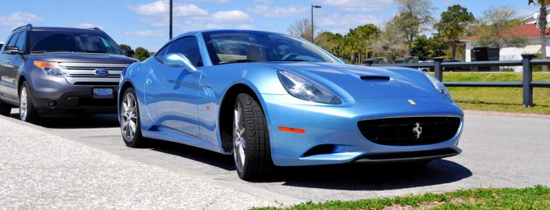 2014 Ferrari California in Blu Mirabeau -- 60-Angle Sunny Photo Shoot 2