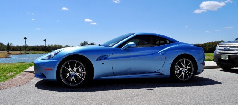 2014 Ferrari California in Blu Mirabeau -- 60-Angle Sunny Photo Shoot 21