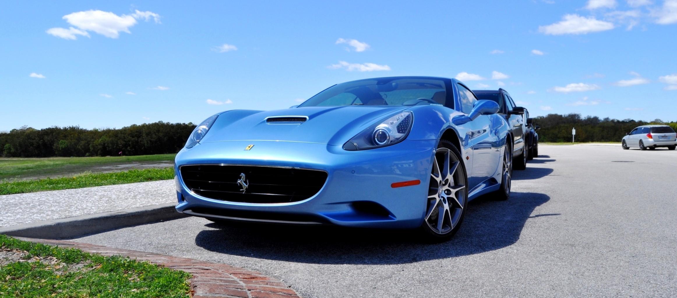 2014 Ferrari California in Blu Mirabeau -- 60-Angle Sunny ...