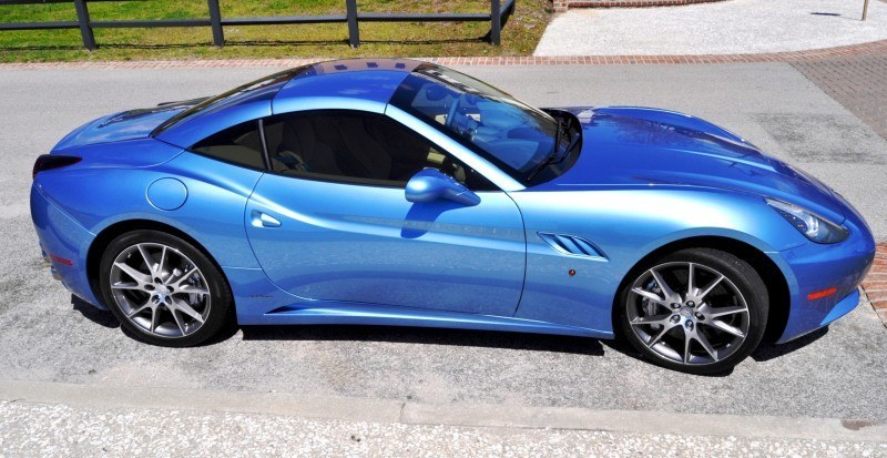 2014 Ferrari California in Blu Mirabeau -- 60-Angle Sunny Photo Shoot 31