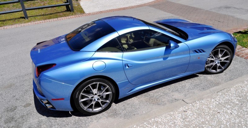 2014 Ferrari California in Blu Mirabeau -- 60-Angle Sunny Photo Shoot 33