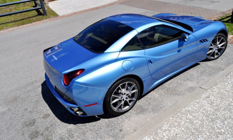 2014 Ferrari California in Blu Mirabeau -- 60-Angle Sunny Photo Shoot 34
