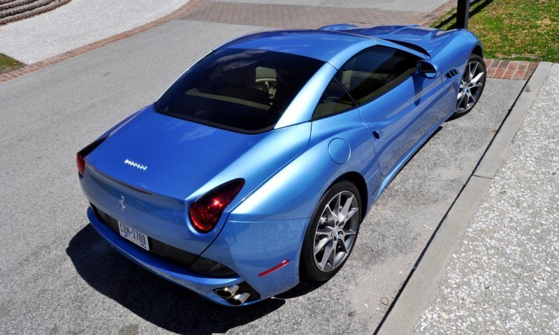 2014 Ferrari California in Blu Mirabeau -- 60-Angle Sunny Photo Shoot 35
