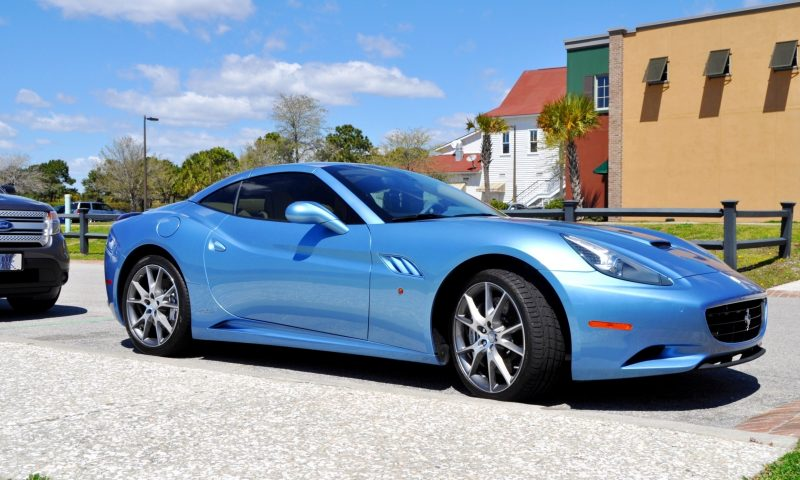 2014 Ferrari California in Blu Mirabeau -- 60-Angle Sunny Photo Shoot 4