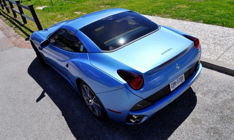 2014 Ferrari California in Blu Mirabeau -- 60-Angle Sunny Photo Shoot 40