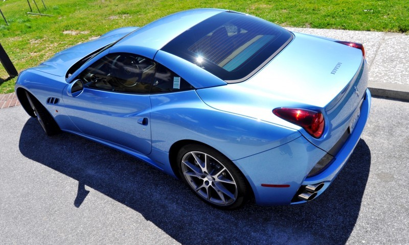 2014 Ferrari California in Blu Mirabeau -- 60-Angle Sunny Photo Shoot 41
