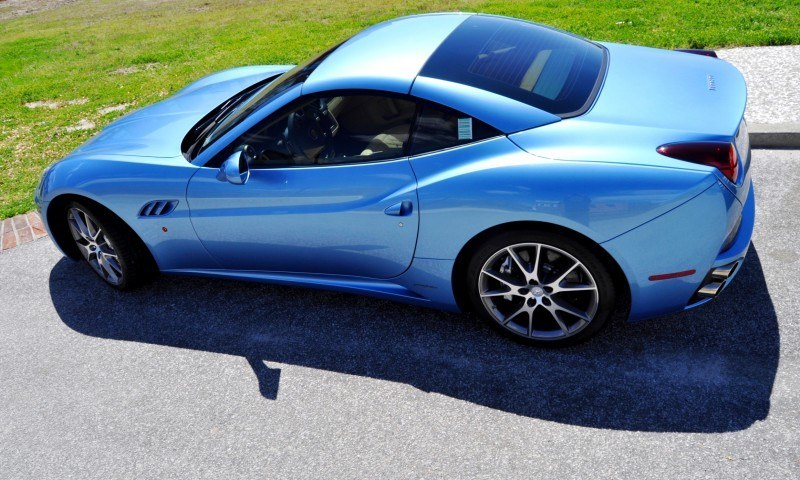 2014 Ferrari California in Blu Mirabeau -- 60-Angle Sunny Photo Shoot 42