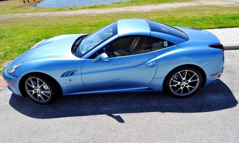 2014 Ferrari California in Blu Mirabeau -- 60-Angle Sunny Photo Shoot 44