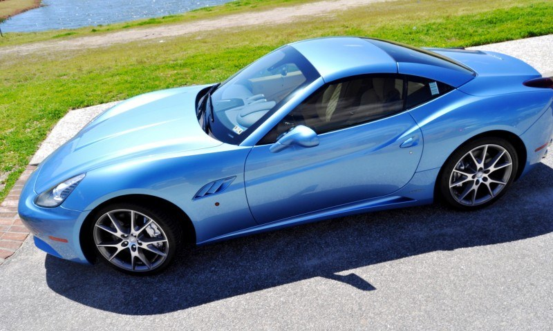 2014 Ferrari California in Blu Mirabeau -- 60-Angle Sunny Photo Shoot 45