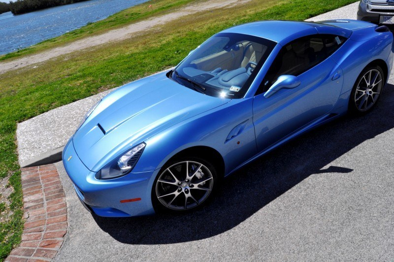2014 Ferrari California in Blu Mirabeau -- 60-Angle Sunny Photo Shoot 46