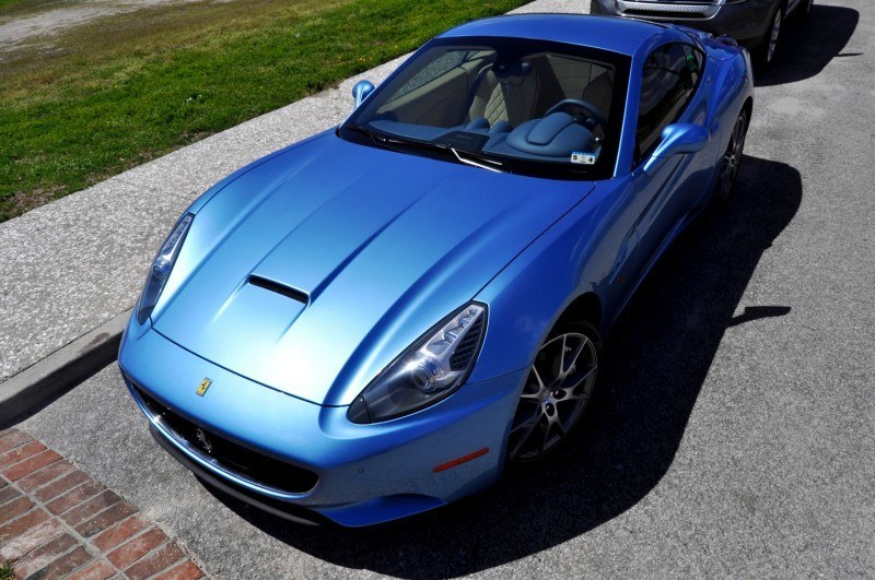 2014 Ferrari California in Blu Mirabeau -- 60-Angle Sunny Photo Shoot 48