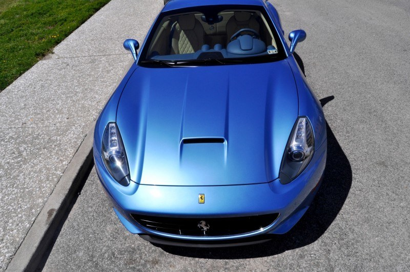 2014 Ferrari California in Blu Mirabeau -- 60-Angle Sunny Photo Shoot 50