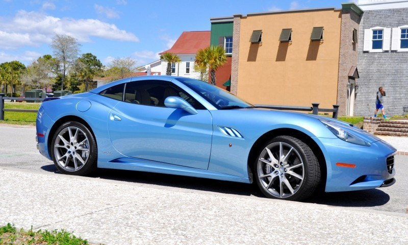 2014 Ferrari California in Blu Mirabeau -- 60-Angle Sunny Photo Shoot 5