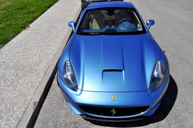 2014 Ferrari California in Blu Mirabeau -- 60-Angle Sunny Photo Shoot 51