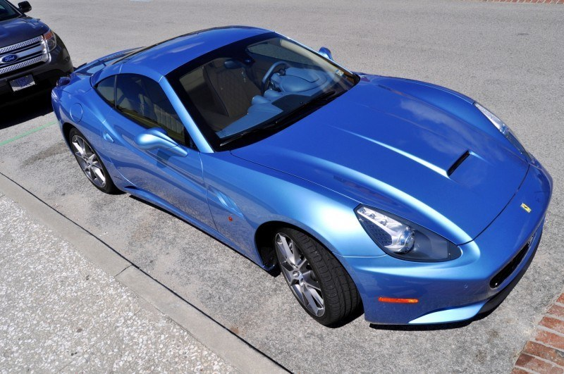 2014 Ferrari California in Blu Mirabeau -- 60-Angle Sunny Photo Shoot 55
