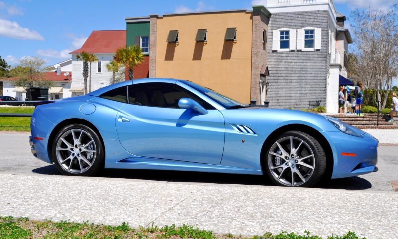 2014 Ferrari California in Blu Mirabeau -- 60-Angle Sunny Photo Shoot 6