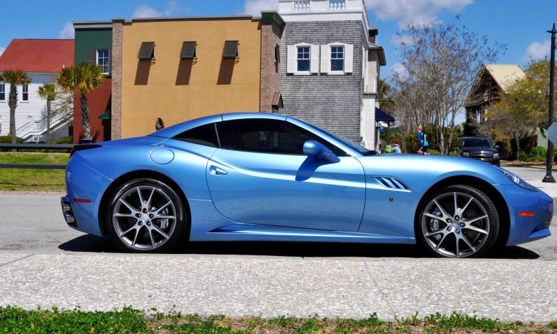 2014 Ferrari California in Blu Mirabeau -- 60-Angle Sunny Photo Shoot 7