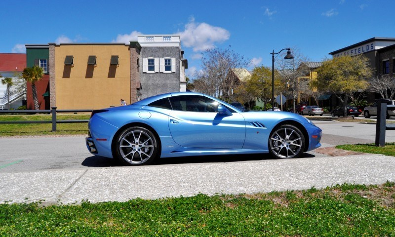 2014 Ferrari California in Blu Mirabeau -- 60-Angle Sunny Photo Shoot 8