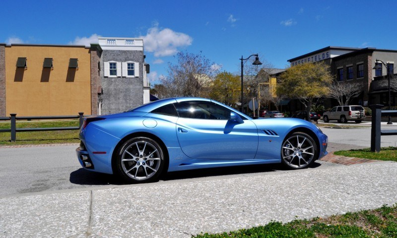 2014 Ferrari California in Blu Mirabeau -- 60-Angle Sunny Photo Shoot 9