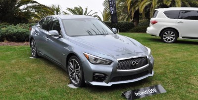 2014 INFINITI Q50S AWD Hybrid -- 1080p HD Road Test Videos & 50 Photos -- AAA+ Refinement and Truly Authentic Steering -- An Excellent BMW 535i Competitor 1