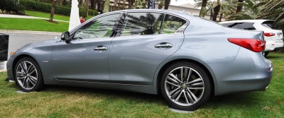 2014 INFINITI Q50S AWD Hybrid -- 1080p HD Road Test Videos & 50 Photos -- AAA+ Refinement and Truly Authentic Steering -- An Excellent BMW 535i Competitor 12