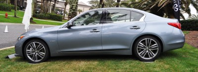 2014 INFINITI Q50S AWD Hybrid -- 1080p HD Road Test Videos & 50 Photos -- AAA+ Refinement and Truly Authentic Steering -- An Excellent BMW 535i Competitor 13