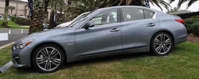 2014 INFINITI Q50S AWD Hybrid -- 1080p HD Road Test Videos & 50 Photos -- AAA+ Refinement and Truly Authentic Steering -- An Excellent BMW 535i Competitor 14