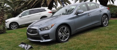 2014 INFINITI Q50S AWD Hybrid -- 1080p HD Road Test Videos & 50 Photos -- AAA+ Refinement and Truly Authentic Steering -- An Excellent BMW 535i Competitor 15