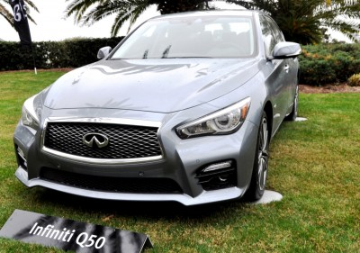 2014 INFINITI Q50S AWD Hybrid -- 1080p HD Road Test Videos & 50 Photos -- AAA+ Refinement and Truly Authentic Steering -- An Excellent BMW 535i Competitor 17